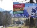 ski billboard